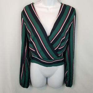 3/$25 ❤ Indulge Stripe Top